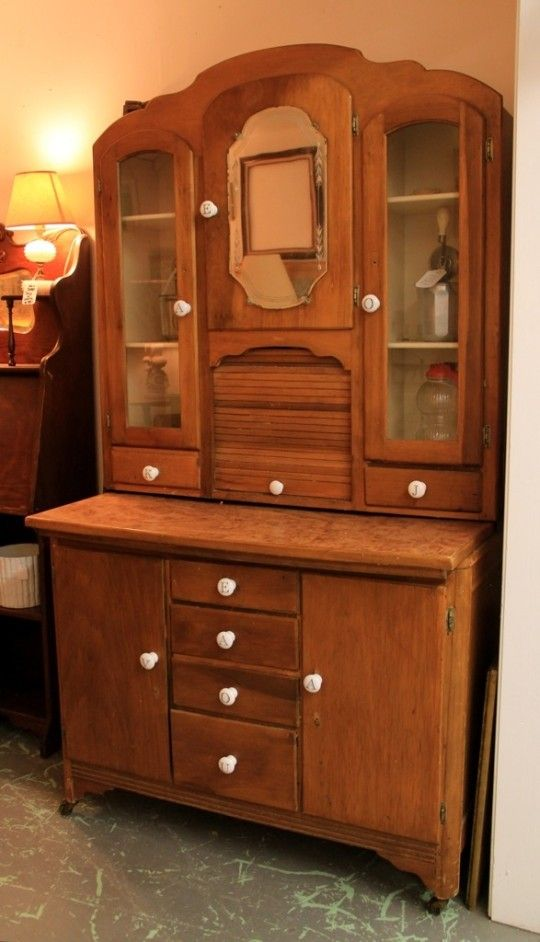 Hoosier cabinet furniture all styles pinterest for Cabinets cupboards