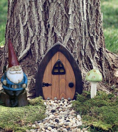 Little Fairy Garden Doors Gardening And Outdoor Pin
