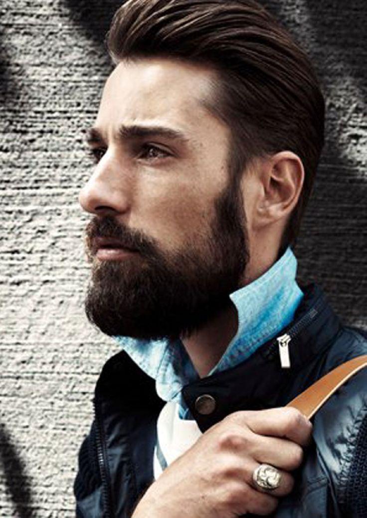 Beautiful man with an even more beautiful beard