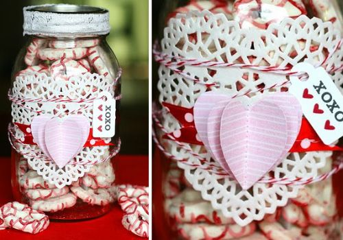 valentine gifts in a jar