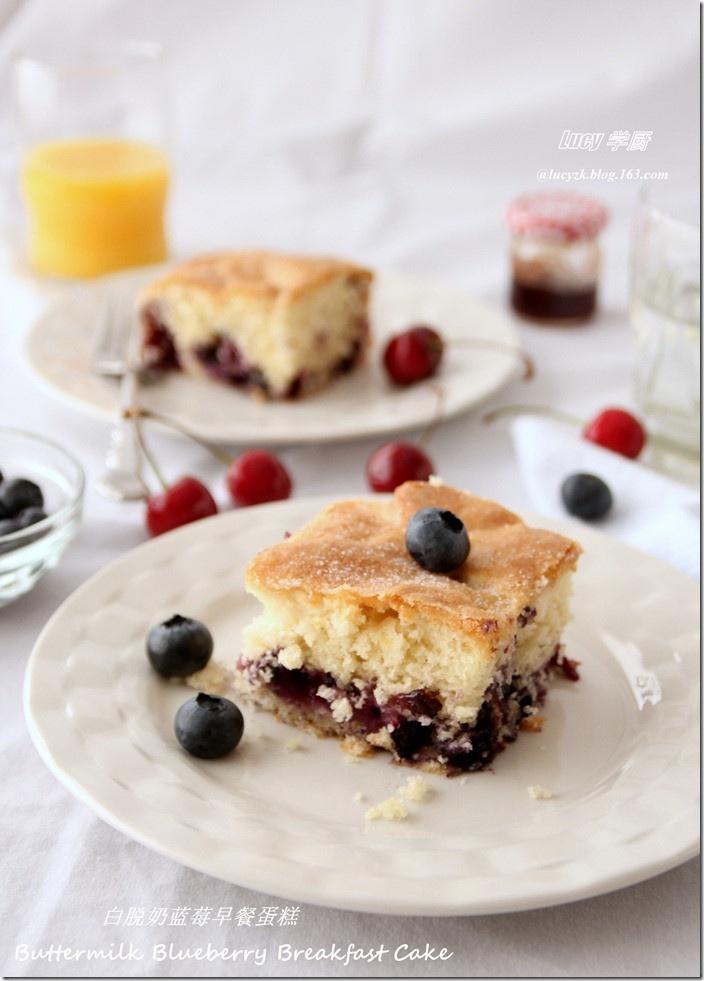 Buttermilk Blueberry Breakfast Cake | In The Kitchen... | Pinterest