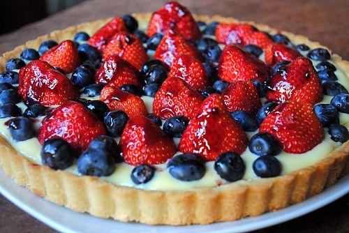 Classic Quick Berry Tart | Yummy Food | Pinterest