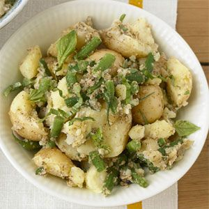 Mediterranean Potato Salad with Harricots Verts and Summer Side Dish ...