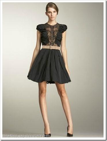 Nina ricci cap sleeve lace dress style pinterest