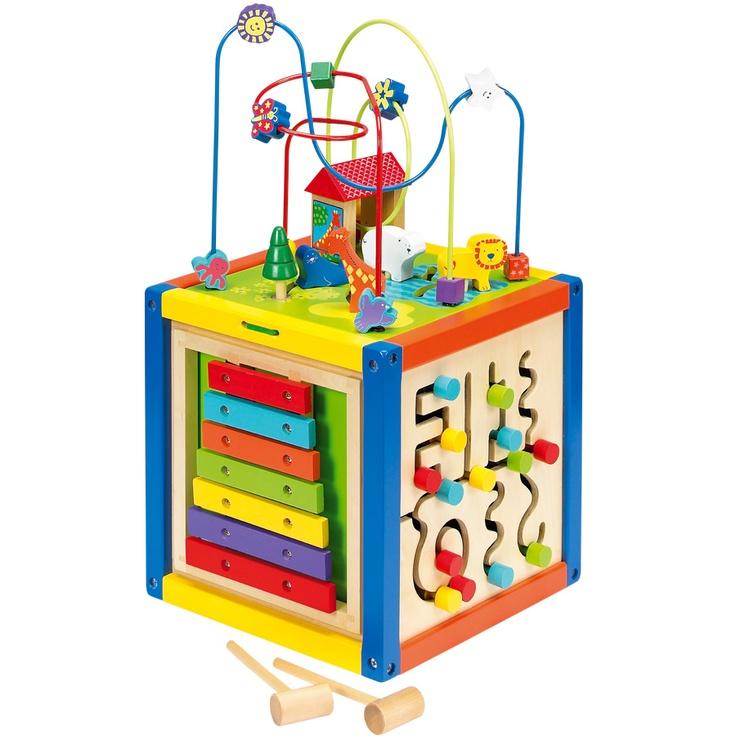 imaginarium 5 way bead maze cube mikel s