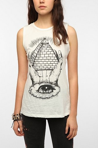 Corner shop all seeing eye muscle tee clothes pinterest