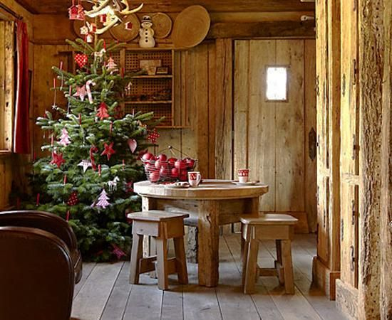 22 Country Christmas Decorating Ideas Enhanced With Recycled Crafts A