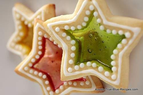 Stained Glass Christmas Cookies | Christmas idea | Pinterest