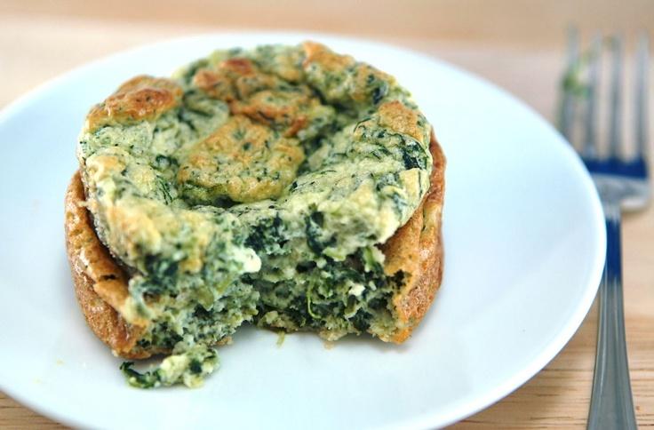 spinach parmesean souffle   Foodie Goodie   Pinterest
