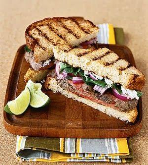 Jalapeno Steak Sandwich | Yumm-O! | Pinterest