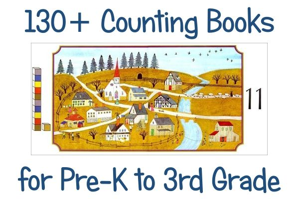 130+ Counting Books