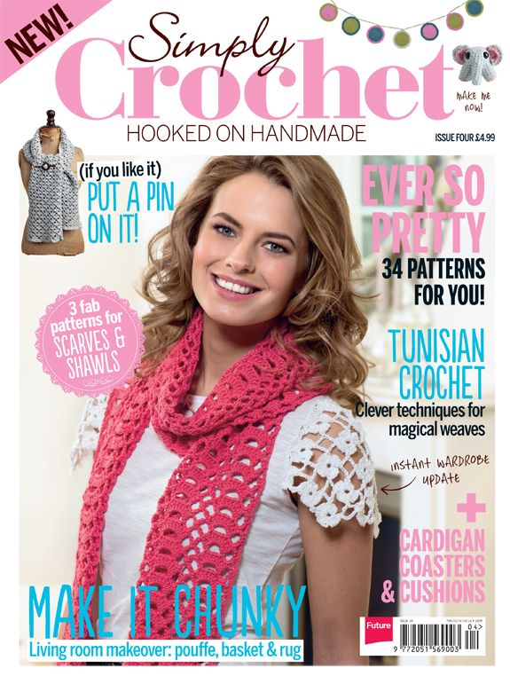 Creative Crochet Magazine : blog_SCM04_COVER image Crochet Magazines Pinterest