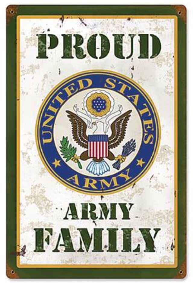Proud Army Family Army Pinterest