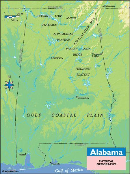 Alabama Landforms Pictures 82