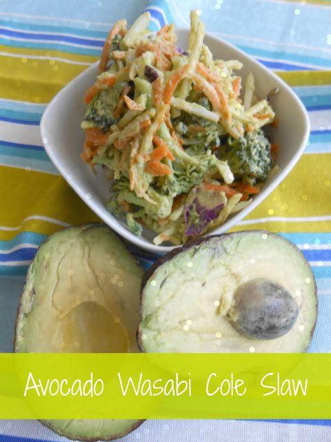 flora foodie: Avocado Wasabi Cole Slaw   Food & Spirits   Pinterest