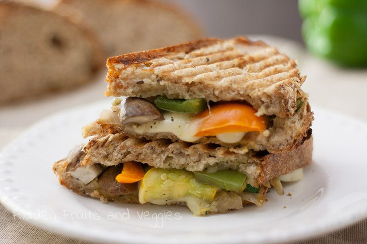 Mozzarella Veggie Melt Hidden Fruits and Veggies