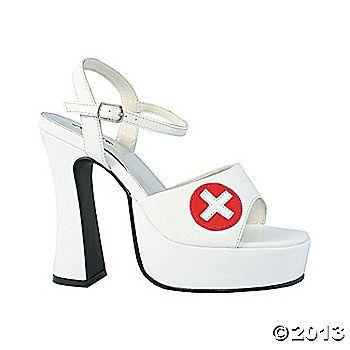 White Nurse Shoes