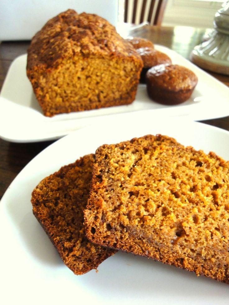 Pumpkin Quick Bread | P U M P K I N | Pinterest