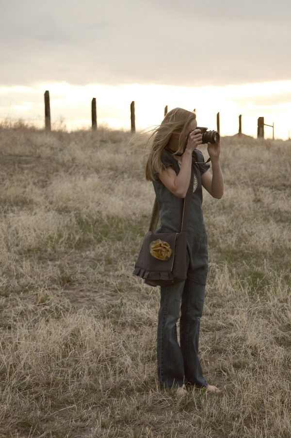 Jeanne Oliver Camera Bag $102