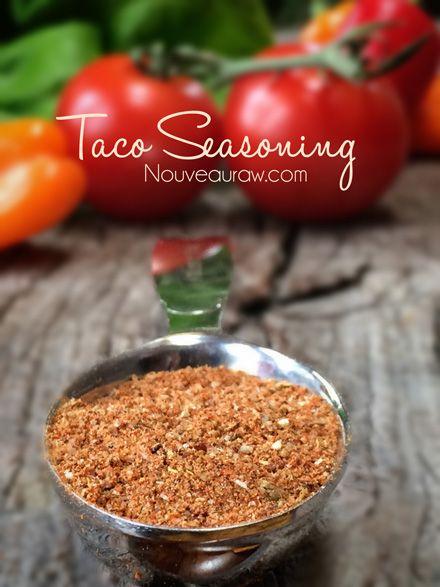 taco-seasoning- Raw and vegan