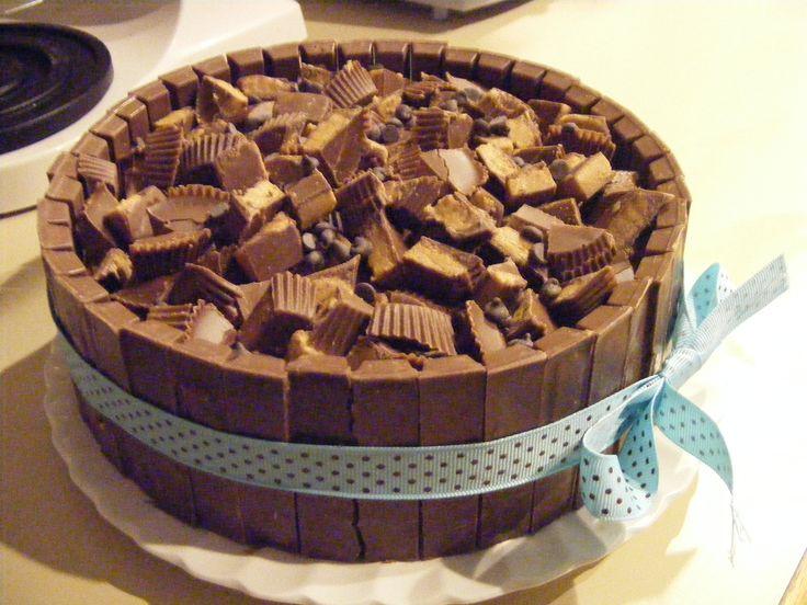 Kit Kat Cake - 8
