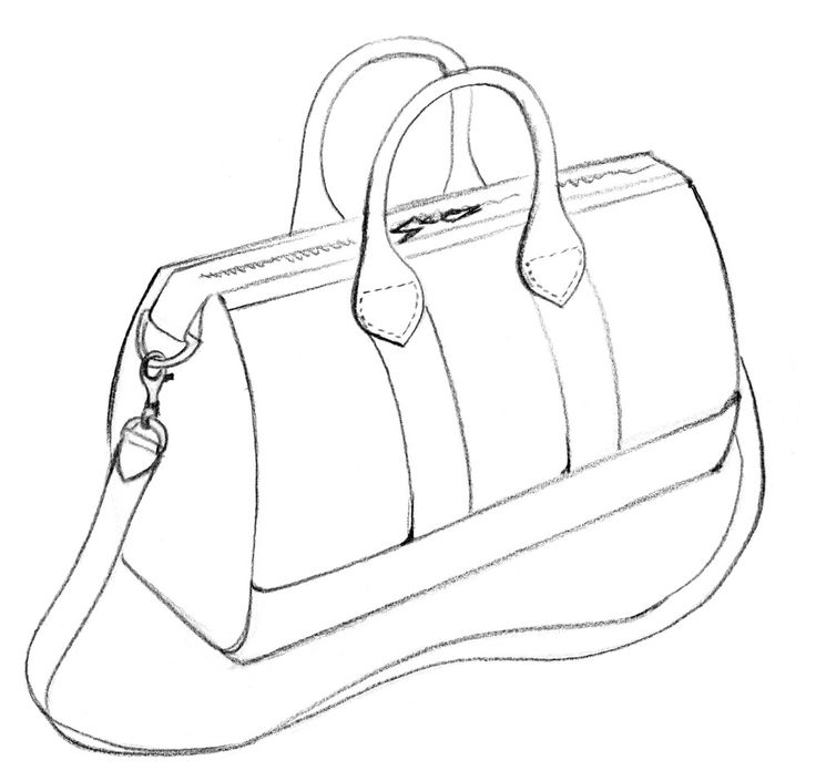 Best Drawings Bags Images On Pinterest Drawings Of