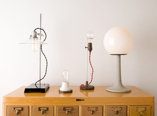 Table lamps by Schoolhouse Electric