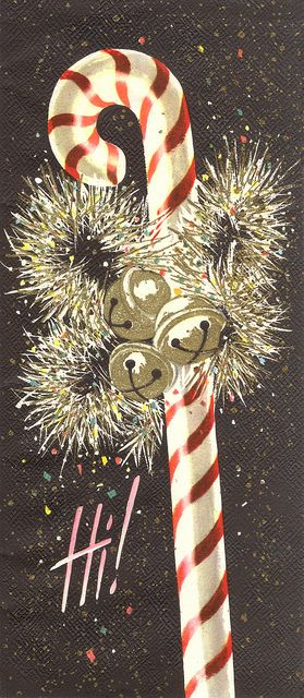 sparkle candy cane