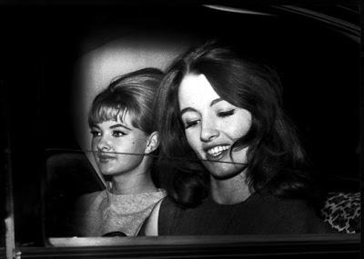 Mandy rice davies and christine keeler 1963