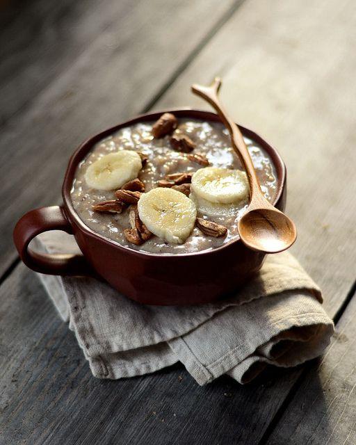 Banana Nut Bread Oatmeal | Recipes - Breakfast | Pinterest