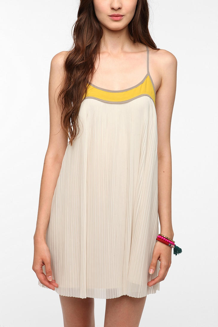 Cooperative Pleat-Tastic Frock Dress  #UrbanOutfitters