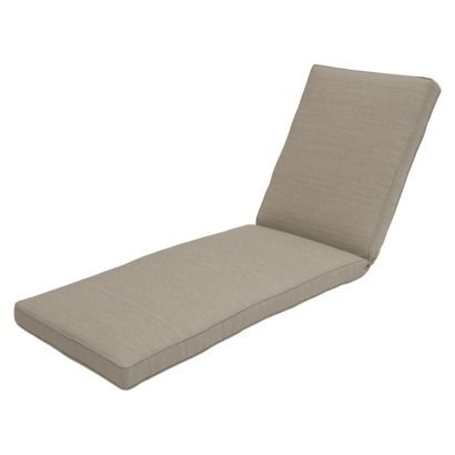 Threshold belvedere outdoor replacement patio chaise for 24 wide chaise lounge cushions