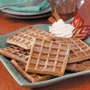 Gingerbread Waffles | Breakfast & Brunch | Pinterest