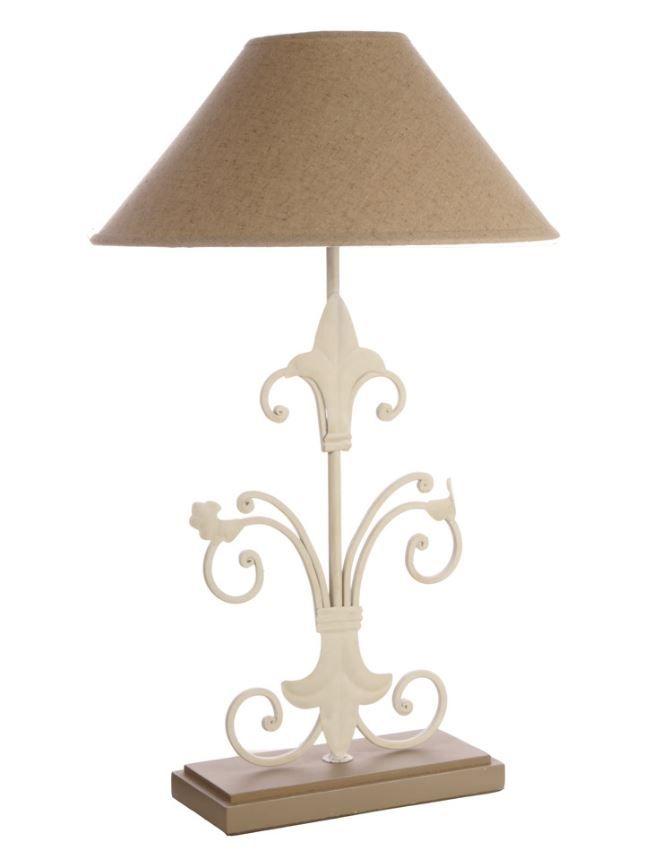 fleur de lis table lamp natural light up your life pendants tabl. Black Bedroom Furniture Sets. Home Design Ideas