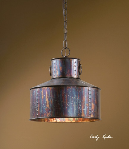 Rustic pendant light hanging chandelier industrial for Rustic industrial kitchen lighting