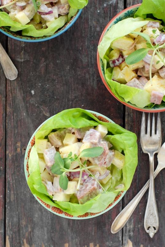 Hawaiian Chopped Ham Salad | Recipe
