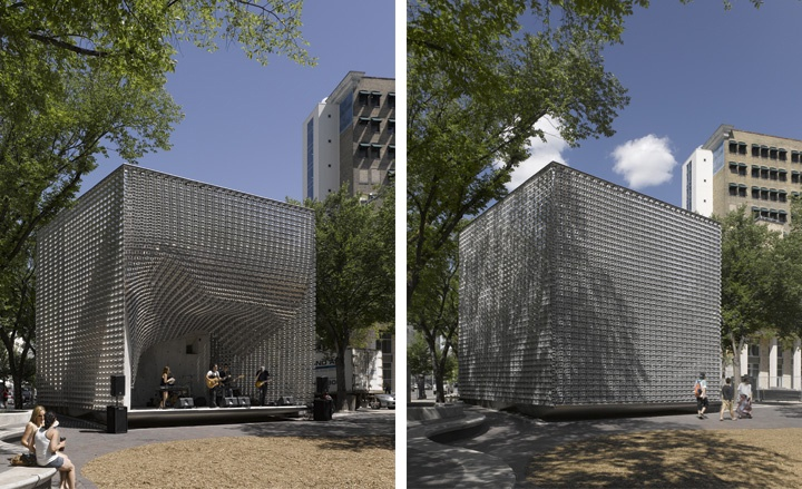 OMS Stage, Winnipeg, Manitoba | Form, Space and Order | Pinterest