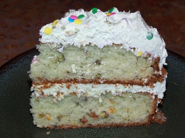 Pistachio Cake from Food.com: This cake is amazing!!!