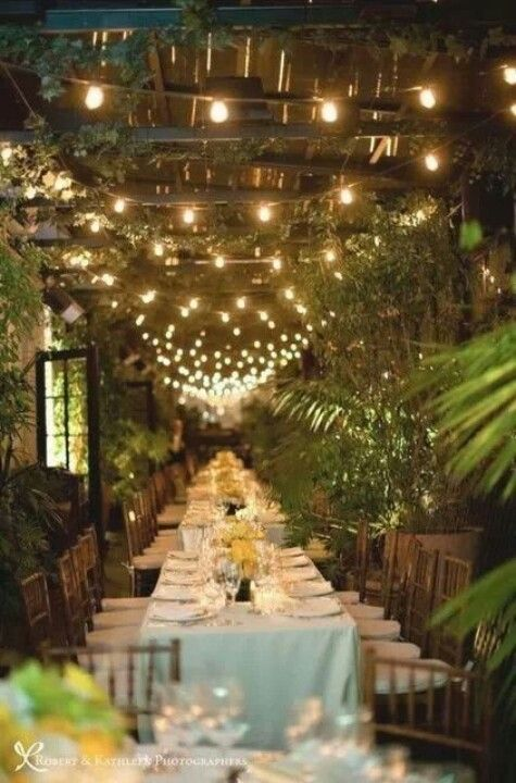 Outdoor dinner party invitations decorations amp accessories for wed