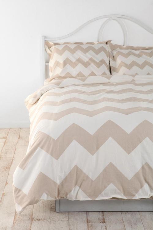 tan chevron bedspread my dream bedroom pinterest