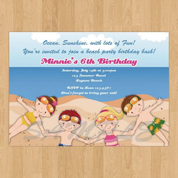 Printable Birthday Invitations for amazing invitation example