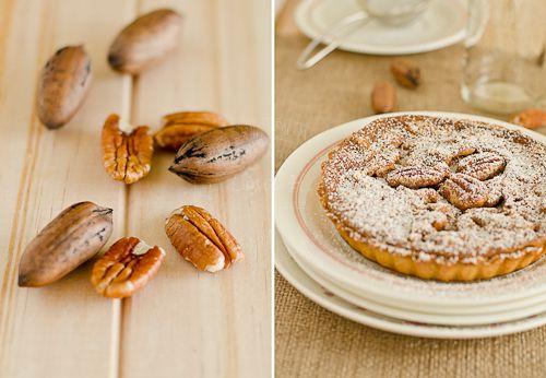 Chocolate & Pecan Tart | Pies & Tarts / Sweet Treats | Pinterest