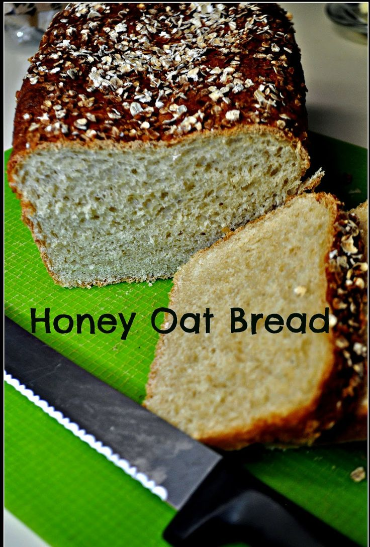 Light Oat Bread Recipe — Dishmaps