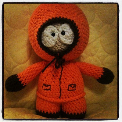 South Park Characters Crochet Pattern + FREE SNOWMAN by