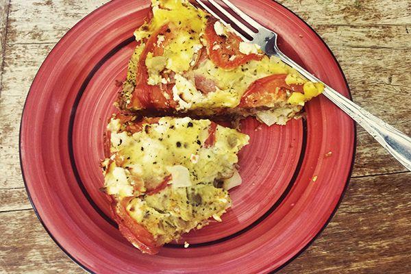 Self-Crusting Tomato and Brown Lentil Quiche   Culture   Critic.co.nz