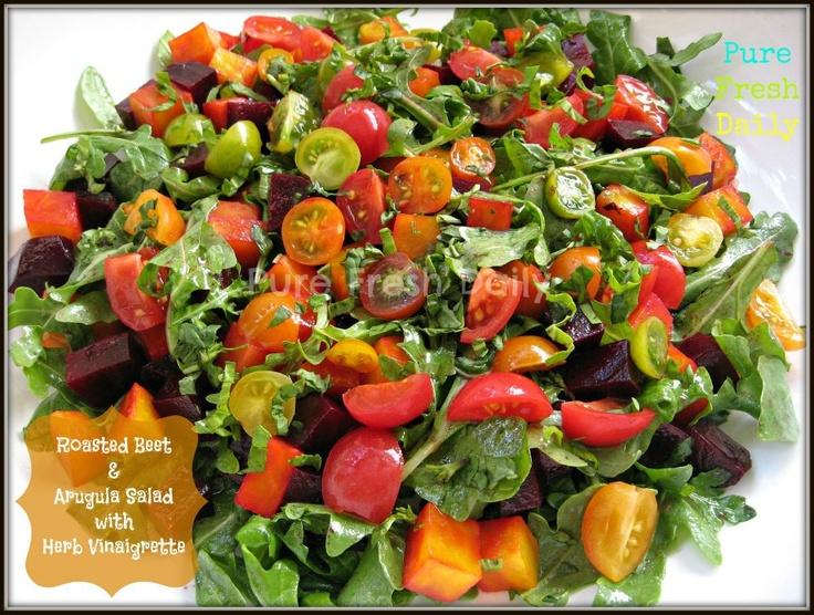 roasted beet salad | Recipes - Meatless meals / Sides / Veggies & Fru ...