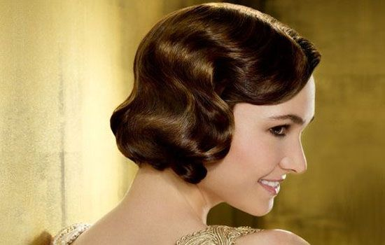 1920s hairstyles for women faux bob