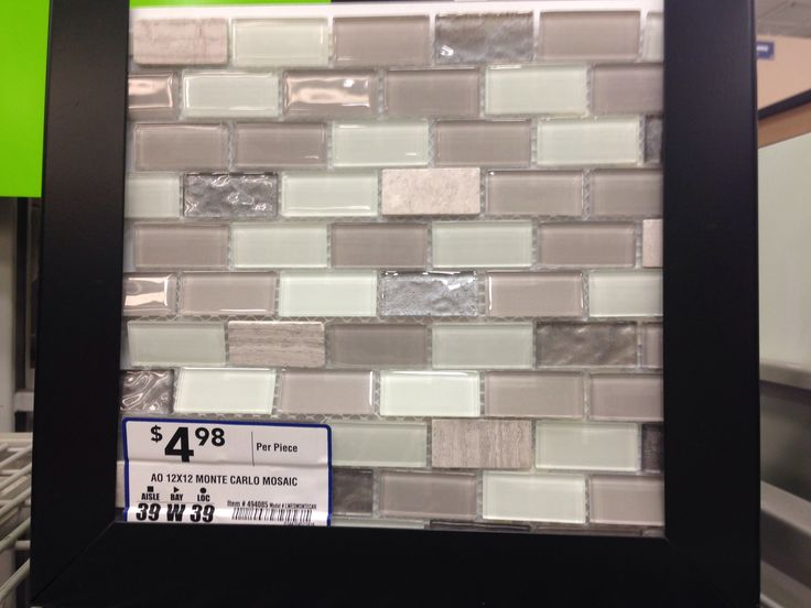 backsplash tile at lowes for the home pinterest