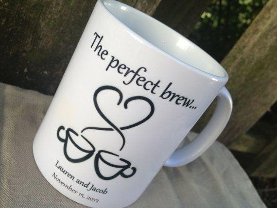 Personalized Coffee Mugs Wedding Gift : Coffee Mug, Christmas Gift, Bridal Party Gift, Wedding Gift, Coffee L ...