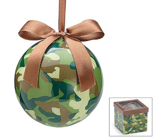 Here are the best camouflage christmas tree ornaments are you decorating a hunting lodge or - Great christmas ornaments that you need for your home ...